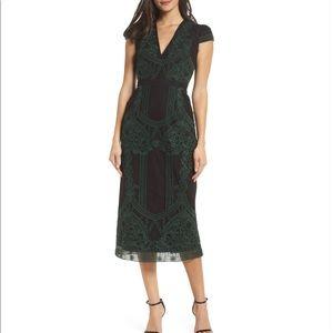 Foxie Dox Remmy Embroidered Midi Dress